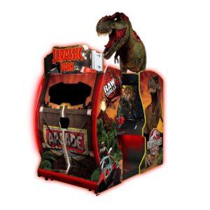 Jurassic Park Arcade at Saturn 5