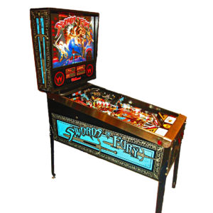 Swords of Fury Pinball Machine